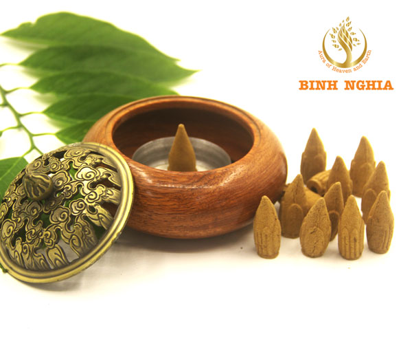 Premium Agarwood Cone incense